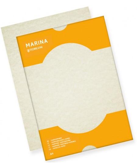 Dekoratyvinis popierius MARMOR MARINA, A4, 175 g/m2, 25 lapai, Conchiglia