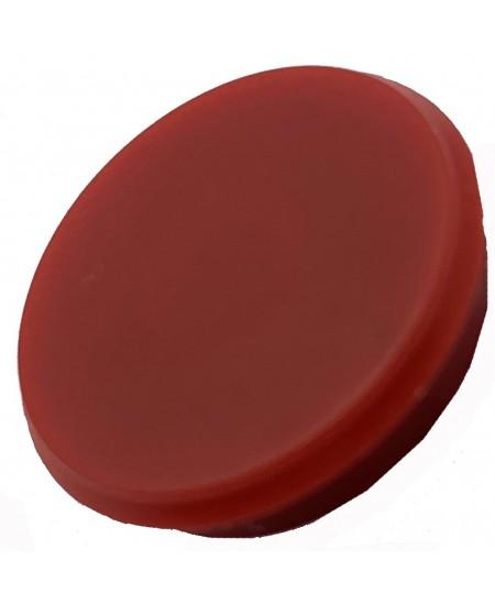 Magnetas ALCO, skersmuo 24mm, raudona spalva, 1vnt.