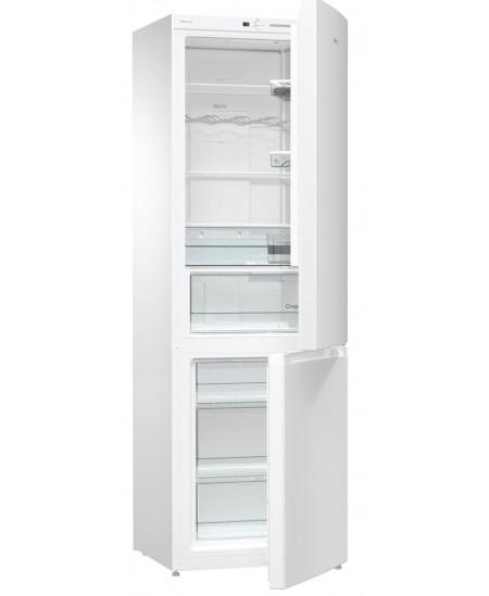 Gorenje Refrigerator NRK6191GHW4 Free standing, Combi, Height 185 cm, A+, No Frost system, Fridge net capacity 222 L, Freezer ne