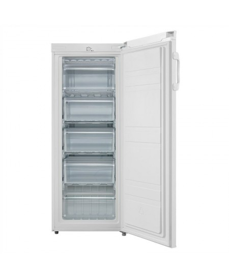 Goddess Refrigerator GODFSD0142TW8A A+, Free standing, Upright, Height 142 cm, 42 dB, White