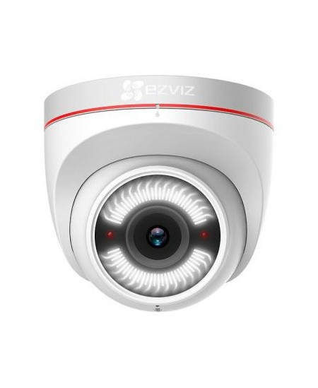 EZVIZ Dome Camera C4W 2 MP, 2.8mm, Power over Ethernet (PoE), IP67, H.265 / H.264, MicroSD, max. 256 GB