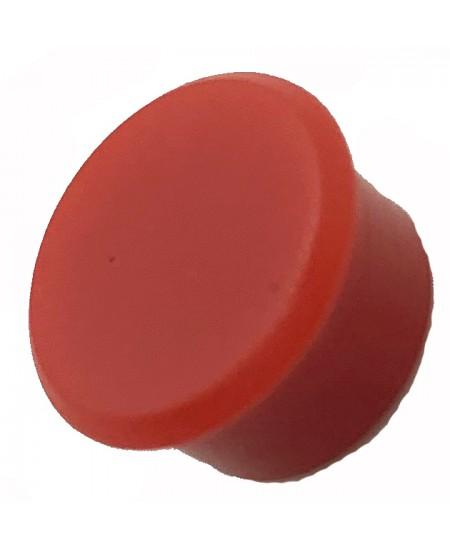 Magnetas ALCO, skersmuo 13mm, raudona spalva, 1vnt.