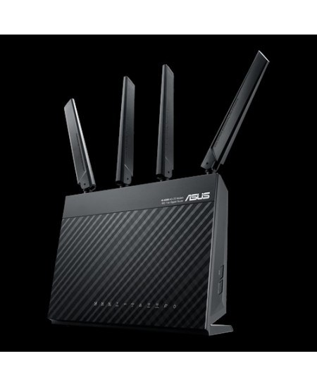 Asus AC1900 Dual Band LTE Router 4G-AC68U 802.11ac, 10/100/1000 Mbit/s, Ethernet LAN (RJ-45) ports 4, Antenna type 2xExternal, U