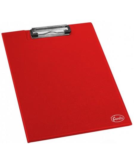 Pagrindas rašymui su atvartu FOROFIS, A4, raudonas