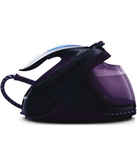 Philips Iron GC9650/80 Steam Iron, 2400 W, Water tank capacity 1800 ml, Continuous steam 40 g/min, Purple