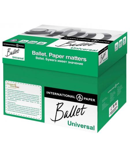 Popierius BALLET UNIVERSAL, 80 g/m2, A4, 500 lapų