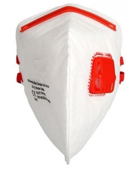 Veido kaukė (respiratorius) FFP3, su vožtuvu