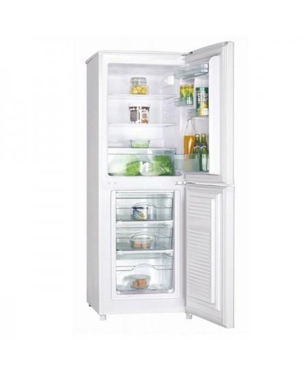 Goddess Refrigerator GODRCD0147GW9 A++, Free standing, Combi, Height 147 cm, Fridge net capacity 98 L, Freezer net capacity 53 L