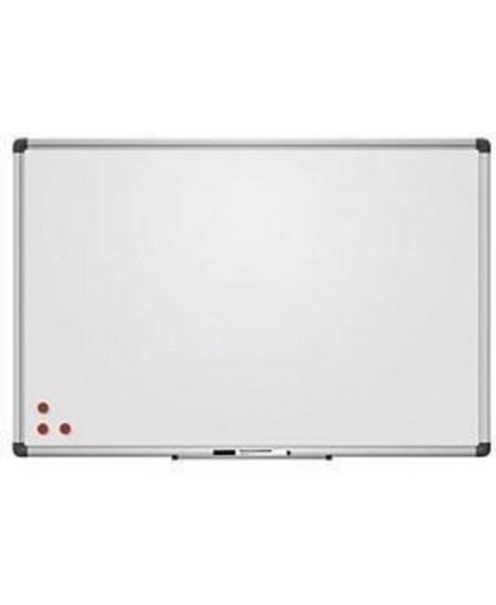 Balta magnetinė keramikinė lenta 2x3, 90x60 cm, aliuminio rėmas