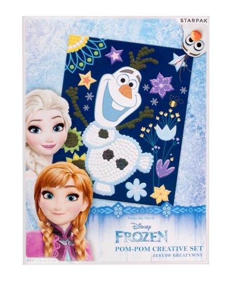 """Kūrybinis rinkinys - paveikslo dekoravimas STARPAK """"Frozen"""""""