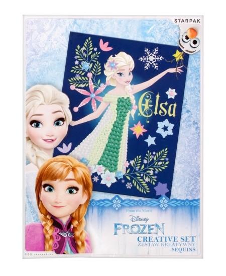 """Kūrybinis rinkinys - paveikslo dekoravimas STARPAK """"Frozen Elsa"""""""