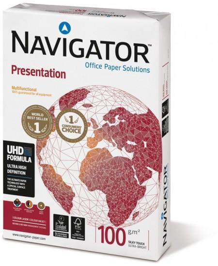 Kopijavimo popierius NAVIGATOR Presentation, 100 g/m2, A3, 500 lapų