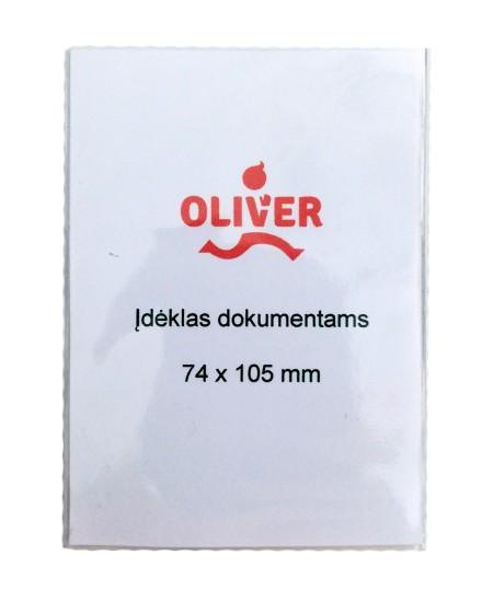 Įdėklas darbo pažymėjimui, 74x105 mm