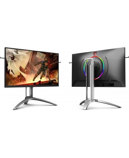 "AOC Gaming Monitor AG273QX 27 "", VA, QHD, 2560 x 1440 pixels, 16:9, 1 ms, 400 cd/m², Black"