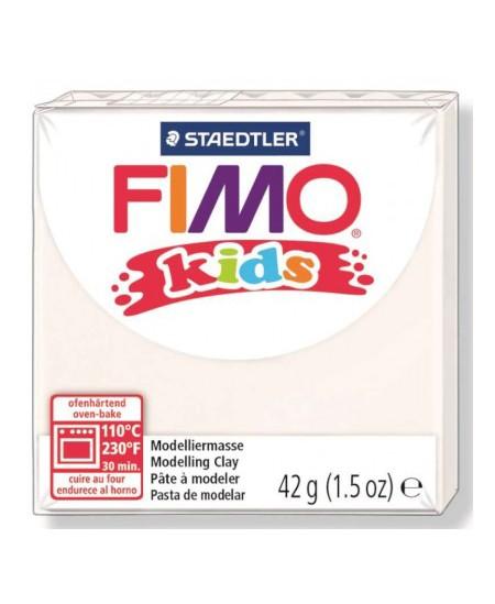 Polimerinis molis vaikams FIMO, baltos spalvos, 42 g