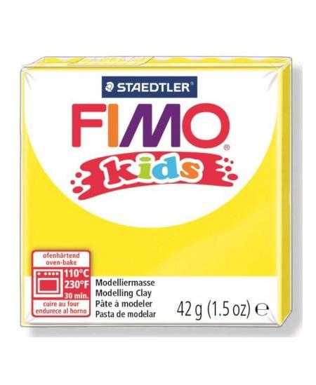 Polimerinis molis vaikams FIMO, geltonos spalvos, 42 g
