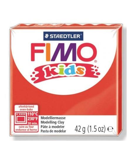 Polimerinis molis vaikams FIMO, raudonos spalvos, 42 g