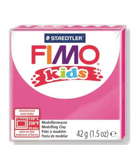 Polimerinis molis vaikams FIMO, ryškiai rožinės spalvos, 42 g