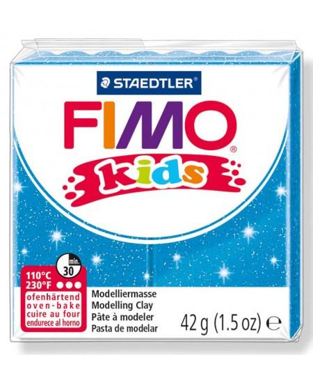 Polimerinis molis vaikams FIMO, blizgios mėlynos spalvos, 42 g