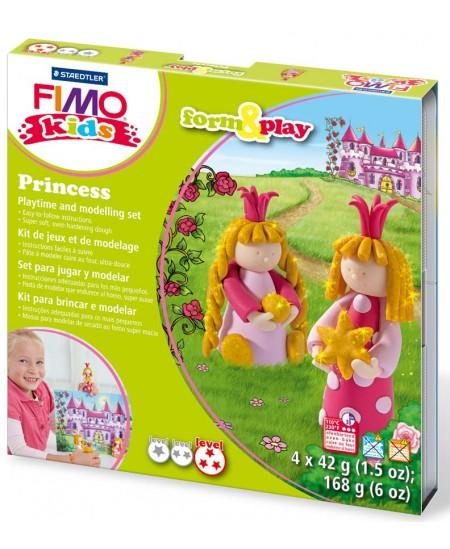 """Polimerinio molio kūrybinis rinkinys vaikams FIMO """"Princesė"""""""
