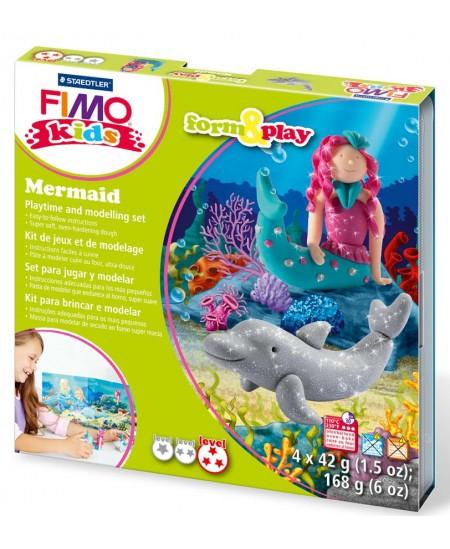 """Polimerinio molio kūrybinis rinkinys vaikams FIMO """"Undinėlė"""""""