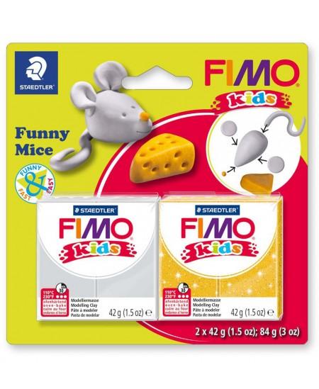 """Polimerinio molio kūrybinis rinkinys vaikams FIMO """"Pelytė"""""""