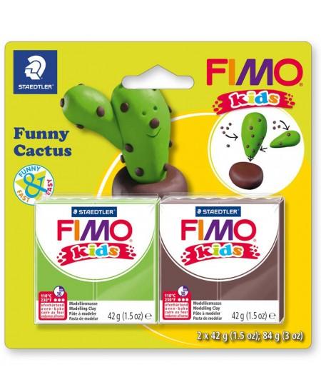 """Polimerinio molio kūrybinis rinkinys vaikams FIMO """"Kaktusas"""""""