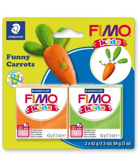 """Polimerinio molio kūrybinis rinkinys vaikams FIMO """"Morka"""""""