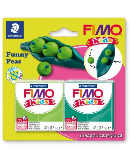 """Polimerinio molio kūrybinis rinkinys vaikams FIMO """"Žirniai"""""""