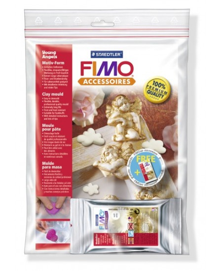 """Plastikinė forma FIMO """"Angeliukai"""""""