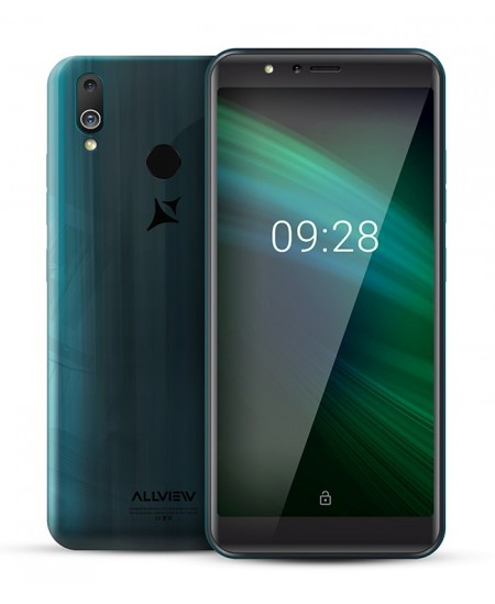 "Allview A10 Max Gradient Turquoise, 5.99 "", IPS LCD, 480 x 960, Cortex-A7 Quad-core, Internal RAM 1 GB, 8 GB, Micro SD, Dua"