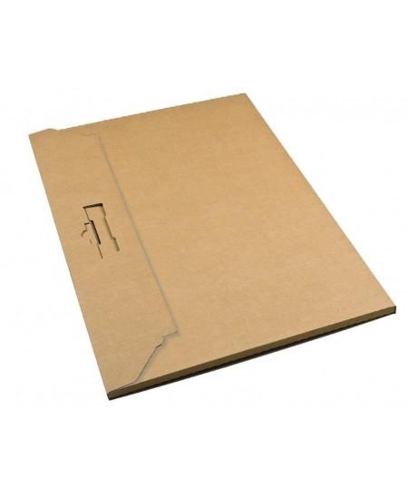 Dėžutė kalendoriui,  428 x 305 x 10 mm, rudos spalvos, 1 vnt