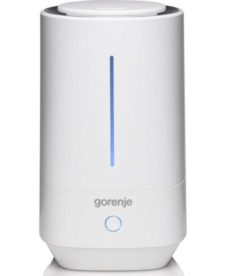 Gorenje Air humidifier H40W 23 W, Water tank capacity 4 L, Ultrasonic, White