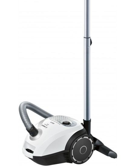 Bosch MoveOn Mini Vacuum cleaner BGL25MON9 600 W, Bagged, 3.5 L, 78 dB, White/Black, Warranty 24 month(s)