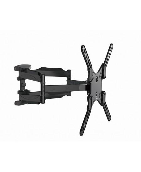 """Gembird WM-60RT-01 TV wall mount (rotate & tilt), 32""""-60"""", 35 kg, Tilt, Black"""