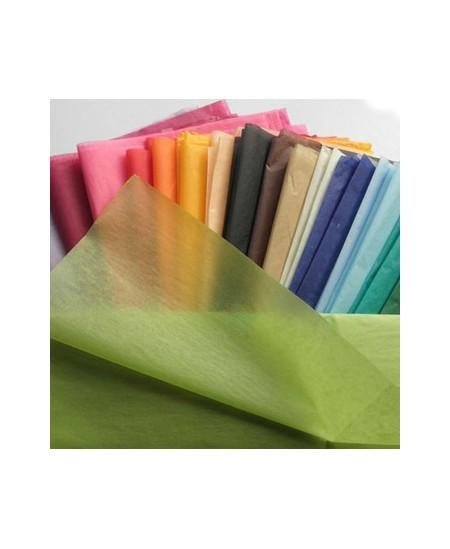 Šilkinis dovanų pakavimo popierius, 50x75cm, 24 lapai,  Orange Nr. 3