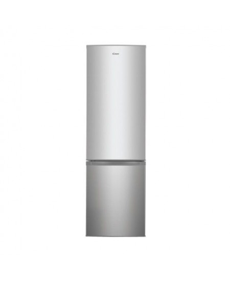 Candy Refrigerator CHICS 5184X A++, Free standing, Combi, Height 180.6 cm, No Frost system, Fridge net capacity 198 L, Freezer n