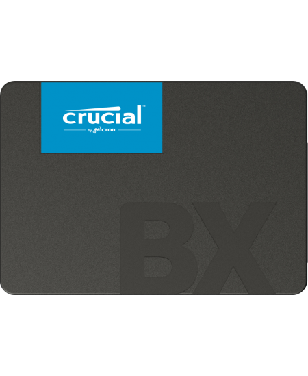 Crucial BX500 2000 GB, SSD interface SATA, Write speed 500 MB/s, Read speed 540 MB/s