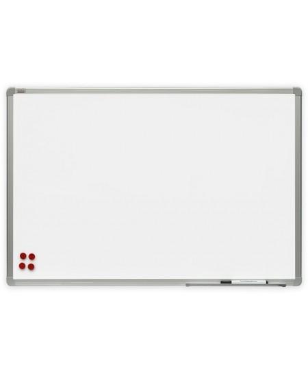 Balta magnetinė keramikinė lenta 2x3, 180x120 cm, aliuminio rėmas