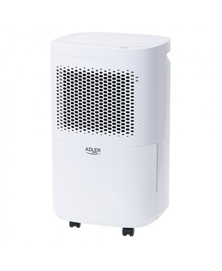 Adler Air Dehumidifier AD 7917 Free standing, Fan, Number of speeds 1, Suitable for rooms up to 60 m³, White, 200 W