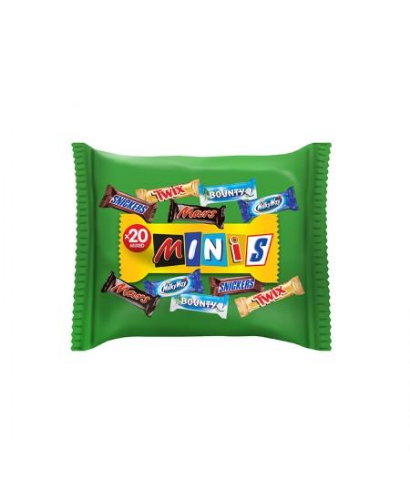 Šokoladinai saldainiai MIXED MINIS Bag, 400g