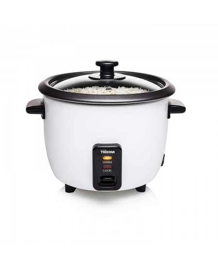 Tristar Rice cooker  RK-6117 Grey, 300 W, 0.6 L