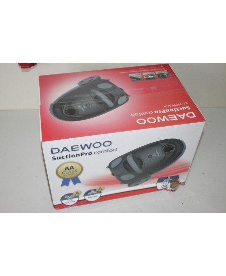 SALE OUT. DAEWOO Vacuum cleaner M-111 Speaker type 2.1, 3.5mm, Bagged, 2 L, Black, 77 dB, Black, DAMAGED PACKAGING, 12 W