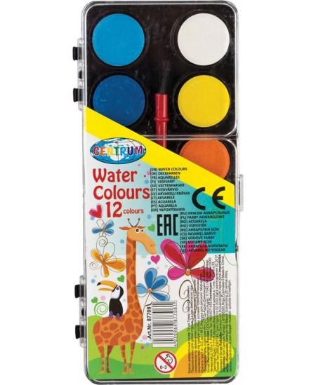 Akvarelė CENTRUM, 12 spalvų
