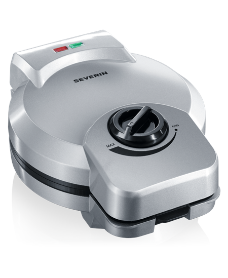 Severin Ice Cone maker 2082 Silver, 850 W, Round, Number of waffles 1,