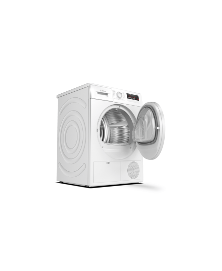 Bosch Dryer mashine WTH85VL7SN Energy efficiency class A++, Front loading, 7 kg, Sensitive dry, LED, Depth 60 cm, White