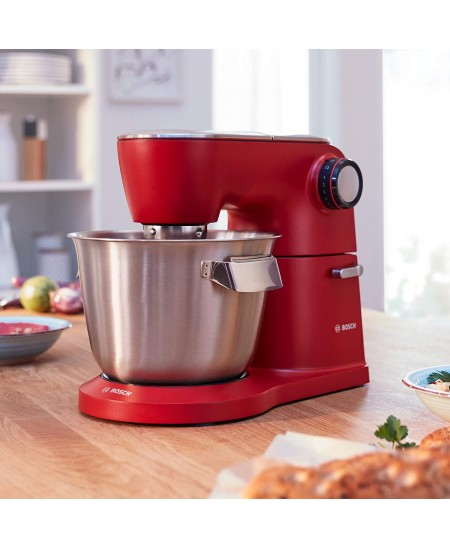 Bosch Kitchen Machine OptiMUM MUM9A66R00 Red, 1600 W, Number of speeds 7, 5.5 L