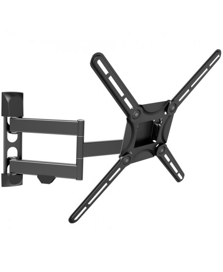 "Barkan Flat/ Curved TV Wall Mount 3400 Wall Mount, Full motion, 29-65 "", Maximum weight (capacity) 40 kg, Black"