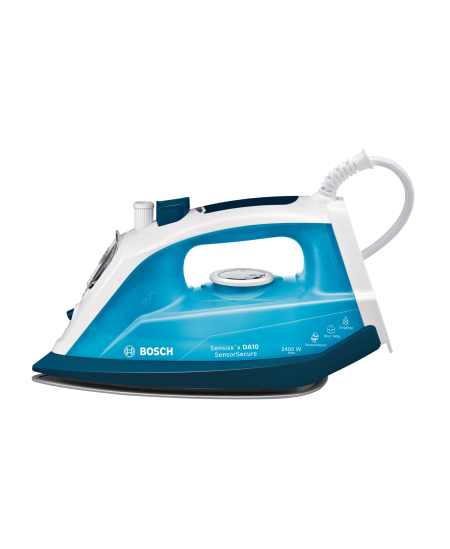 Bosch Steam Iron TDA1024210 2400 W, Water tank capacity 300 ml, Continuous steam 35 g/min, Steam boost performance 140 g/min, Ic