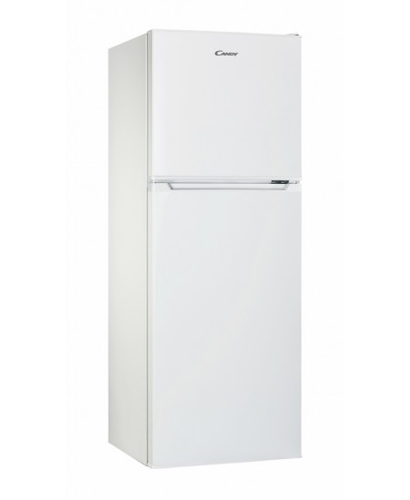 Candy Refrigerator CMDS 5122W Free standing, Double door, Height 122.5 cm, A+, Fridge net capacity 98 L, Freezer net capacity 40